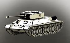 3Д пазл Т-34