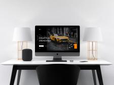 Веб - сайт дизайн iMac
