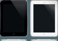 Планшет для мокапов. Подобный версии iOS Pro.