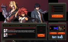 Сайт сервера игры Rusty Hearts
