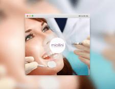 Лендинг стоматологической клиники «Miollini»