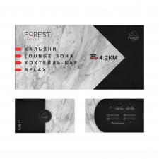 Дизайн визитки и баннера