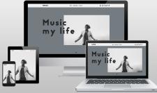 NEOU1. Сайт для рэп исполнителя.