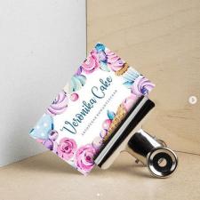 buisnes card Cake Bacery
