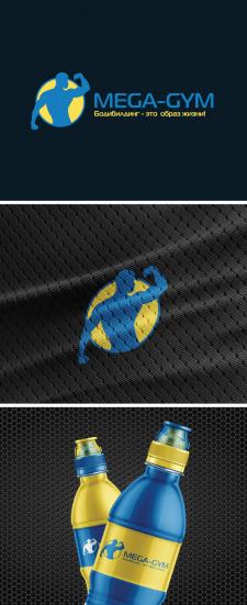 MEGA-GYM (логотип для тренера)