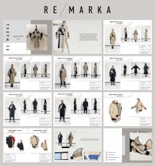 Презентация бренда одежды RE/MARKA