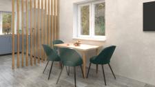 Обеденная зона. Дизайн интерьера частного дома