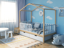 Детская кровать в интерьере