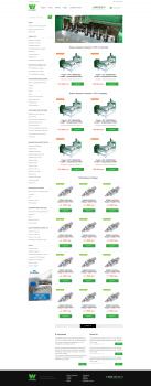 Сайт по продаже станков ЧПУ и комплектующих