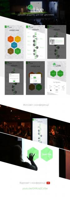 Дизайн додатку для конференції iLive 2014@Ріга