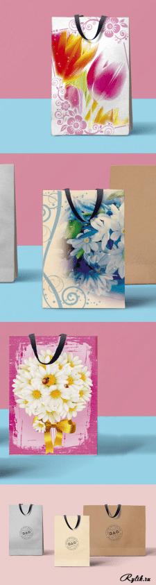 разработка дизайна бумажных пакетов