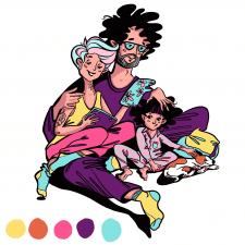 Ілюстрація сімї