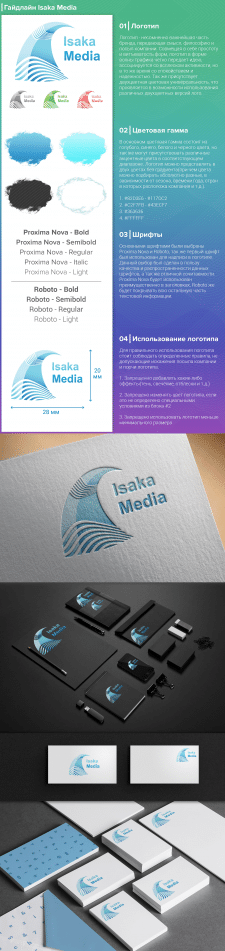 Гайдлайн компании Isaka Media