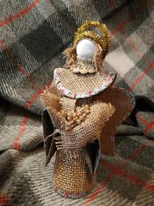 """Новогодний сувенир """"Ангел"""" handmade"""