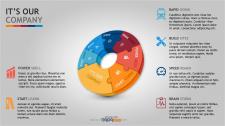 Infographic pie