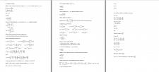 Контрольная работа по линейной алгебре и геометрии