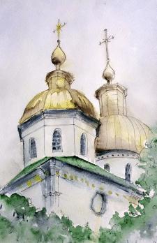 Купол Крестовоздвиженсго монастыря