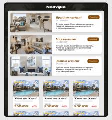 Nedvijka | Branding & Web design