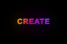 Logo with nice gradient