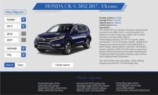 Адаптивная верстка автомобильного сайта
