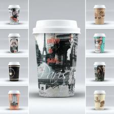Дизайндля кофейных стаканов