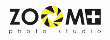 "Логотип фото студии ""Zoom +"""