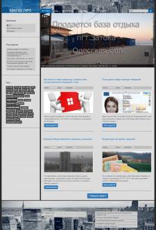 Сайт-блог тематический