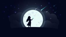 Ночная иллюстрация