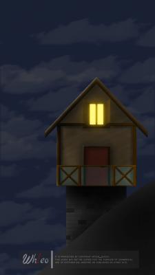 Дом (ночь)