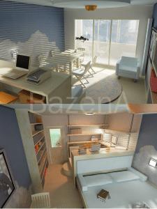 комната в 1-к квартире