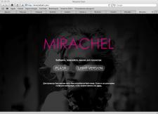 Сайт для модного бутика Мирашель