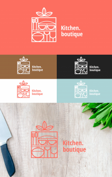 Лого для магазина Kitchen.boutique