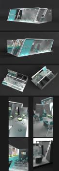 Дизайн выставочного стенда дяя Hyalual