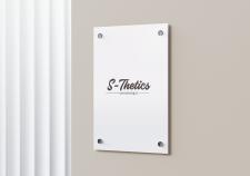 Дизайн вывески S-Thetics