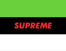 Эксперемент с логотипом SUPREME