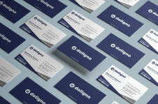 Персональные визитные карточки Doligno