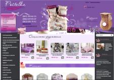 Адаптивная верстка интернет-магазина Postelka