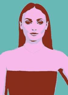 Pop-art портрет