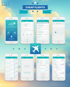 "App ""Cheaps flights"""