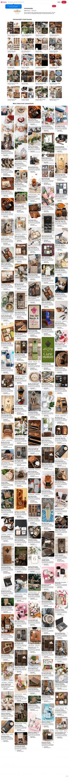 Handmade natural wood products