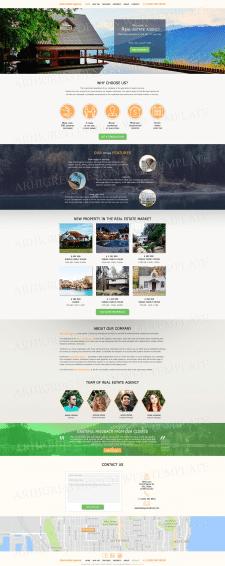Дизайн сайта для Агентства недвижимости