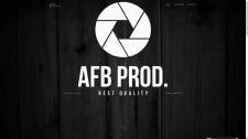 """Сайт студии """"AFB prod."""""""
