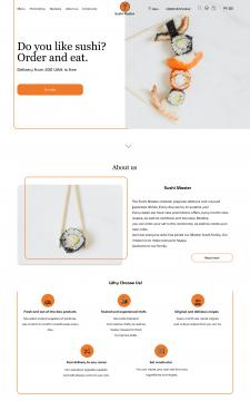 Онлайн-магазин SushiMaster