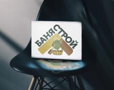Логотип Баня Строй