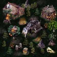 3D локация для игры