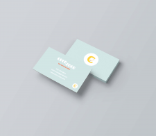 Business card for children clothes