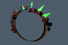 3д кольца