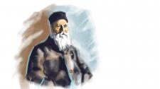 Портрет Анрі Дюнана у віці