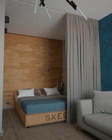 Квартира в стиле гранж  50 m2