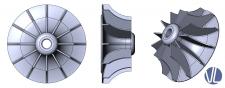 Крильчатка компресора
